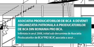 organizatia patronala a producatorilor de bca din Romania