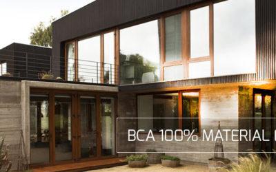 BCA-ul,  tine cu mediul inconjurator