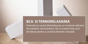 BCA si termorelaxarea