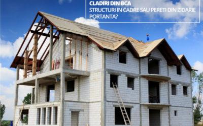 Cladiri din BCA – structuri in cadre sau pereti din zidarie portanta?