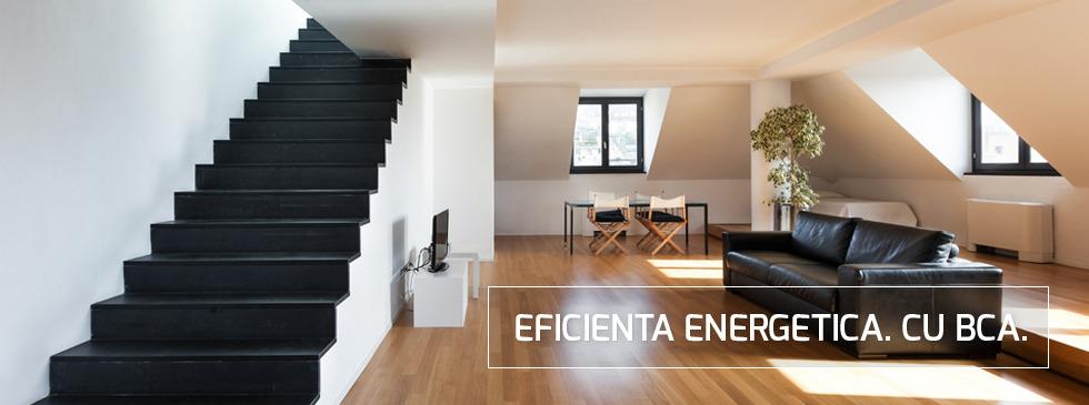 Cladiri cu consum de energie aproape de zero construite cu BCA