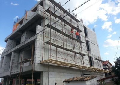 Constructie CELCO pe baza de zidarie din BCA