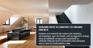 Durabilitate si confort cu zidarie din BCA