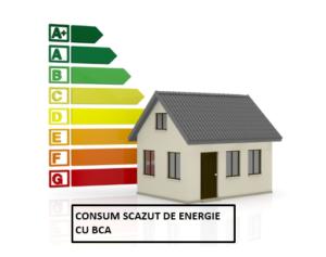 consum scazut de energie cu bca